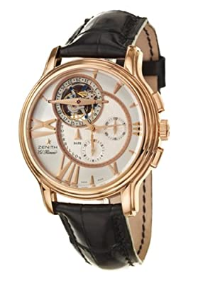 Zenith Academy Tourbillon Chronograph Men's Automatic Watch 18-1260-4005-02-C505