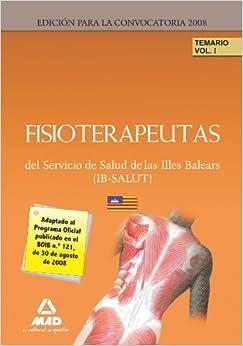 Fisioterapeutas del Servicio de Salud de las Illes Balears (IB-SALUT