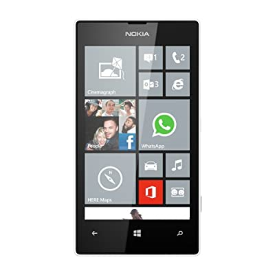 Nokia Lumia 520 8GB Unlocked GSM Windows 8 Cell Phone - White