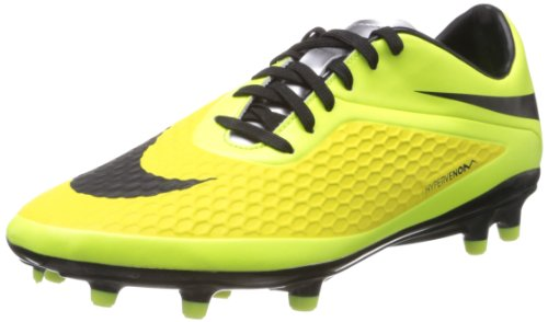 Nike Men's Hypervenom Phelon FG Bright Crimson/Black/Hyper C