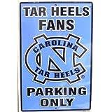 Carolina Tar Heels Fans Parking Sign ~ signs-unique