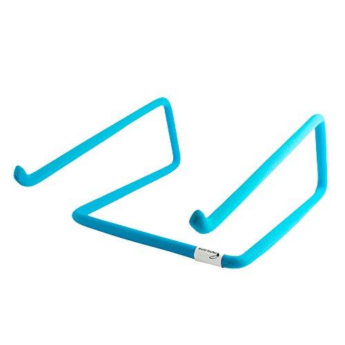 SURFHUND Laptopständer Blue für MacBook Pro, MacBookAir, Notebooks von Dell, HP, Acer, Samsung, Lenovo, Fujitsu uvm