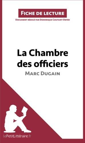 La Chambre des officiers de Marc Dugain (Fiche de lecture): R PDF