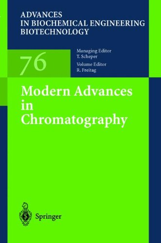 Modern Advances in Chromatography (Advances in Biochemical Engineering/Biotechnology)