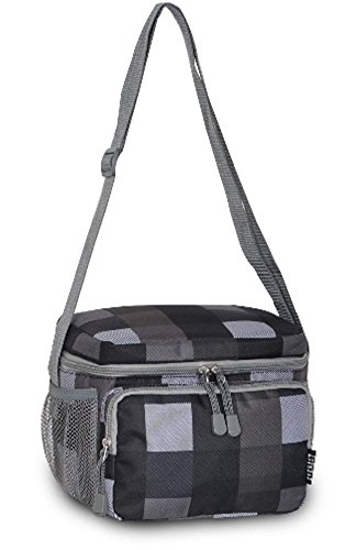 Everest Cooler/Lunch Bag DOTS GREY