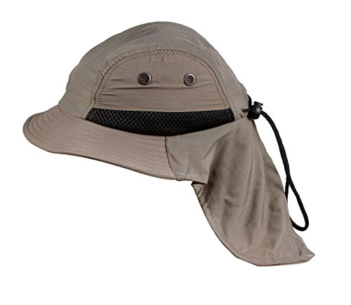 Children Outdoor Protection Neck Cover Flap Bucket Sun Hat Cap back-825358
