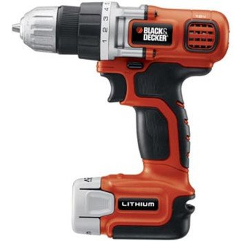 Factory-Reconditioned Black & Decker LDX112C-2R 12V MAX Cordless Lithium-Ion Drill Driver w/ 2 Batteries