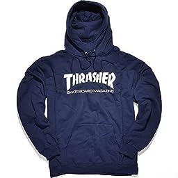 Thrasher Skate Mag Hood - Navy