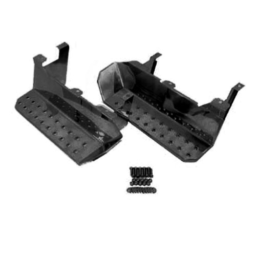 Rugged Ridge 11139.02 Semi Gloss Black Side Step - Pair (Jeep Cj Nerf Bars compare prices)