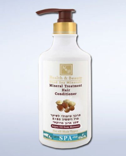 Health & Beauty Dead Sea Treatment Hair Conditioner With Argan Oil From Morocco