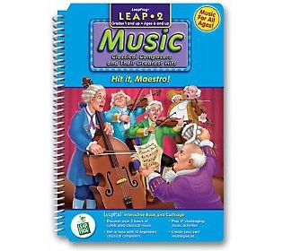 "LeapPad: Leap 2 Music - ""Hit it, Maestro!"" Interactive Book and Cartridge"