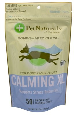 """Brand New Pet Naturals Of Vermont - Calming Bone Shaped Chews (Xl) """"Dog Products - Dog Health - Vitamins & Supp"""""""