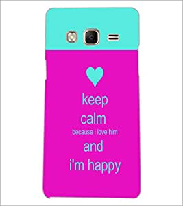 PrintDhaba Quote D-2629 Back Case Cover for SAMSUNG Z3 (Multi-Coloured)