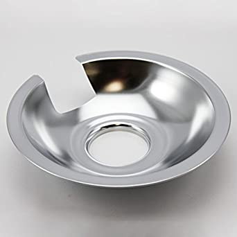 "Jenn Air Range 6"" Chrome Drip Pans"