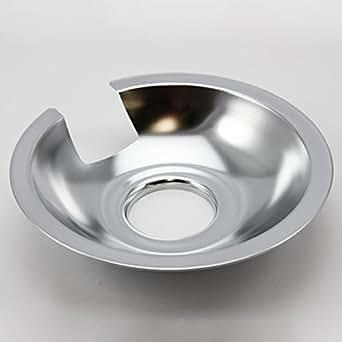 """Jenn Air Range 6"""" Chrome Drip Pans"""
