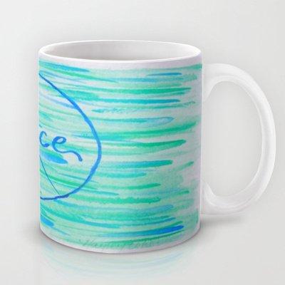 Society6 - Peace Coffee Mug By Hayley Lang
