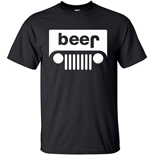 Beer Funny Drinking T Shirt Large Black