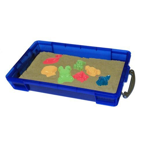 Cat litter tray with sieve