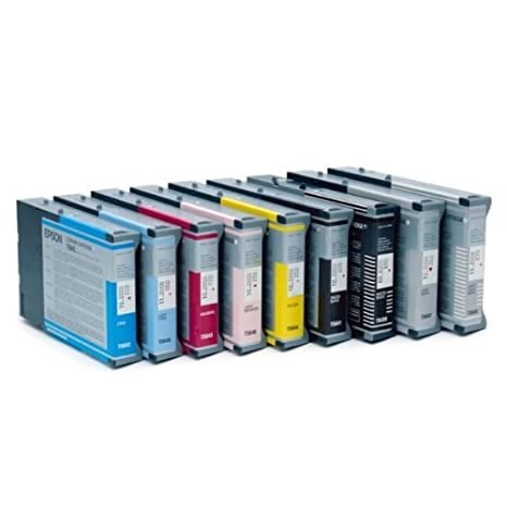*C13T605400-Epson STYLUS PRO pour 4800/4880/jaune 110 ml