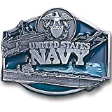 Navy Midshipmen Military Pewter Belt Buckle - U.S. Navy - NCAA College Athletics Fan Shop Sports Tea...