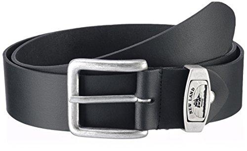 mgm-herren-gurtel-new-land-einfarbig-gr-105-cm-schwarz-schwarz-1
