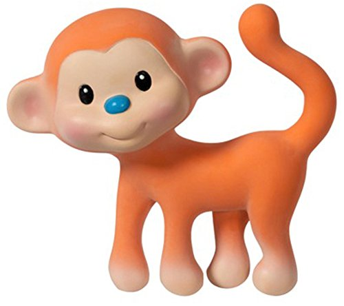 Go GaGa Squeeze & Teethe Monkey - Coco - 1