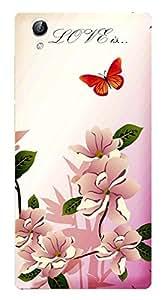 TrilMil Printed Designer Mobile Case Back Cover For Vivo Y51L