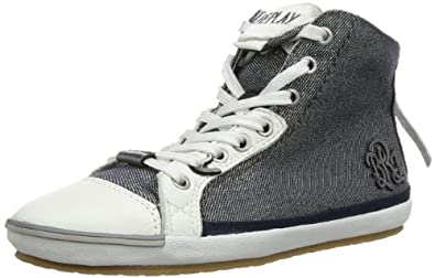 REPLAY Electra Metal M GWV14 .000.C0072S Damen Sneaker, Blau (NAVY 40), EU 35