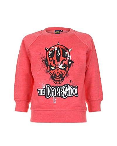 Star Wars Sweatshirt Dark Side pink