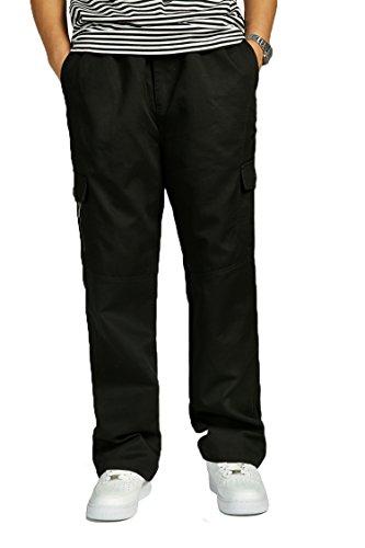 cousin-canal-famous-fashionable-man-pants-male-plus-size-fat-cotton-overalls-trousers-black-4xl
