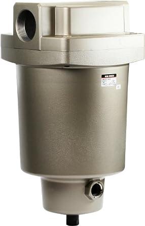 "SMC AMG850-N20D Water Separator, N.O. Auto Drain, 12,000 L/min, 2"" NPT"