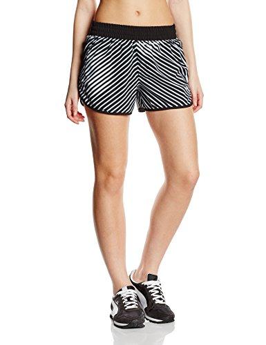PUMA Blast pantaloncini da 3 W - Pantaloni da donna, colore bianco/nero, taglia M