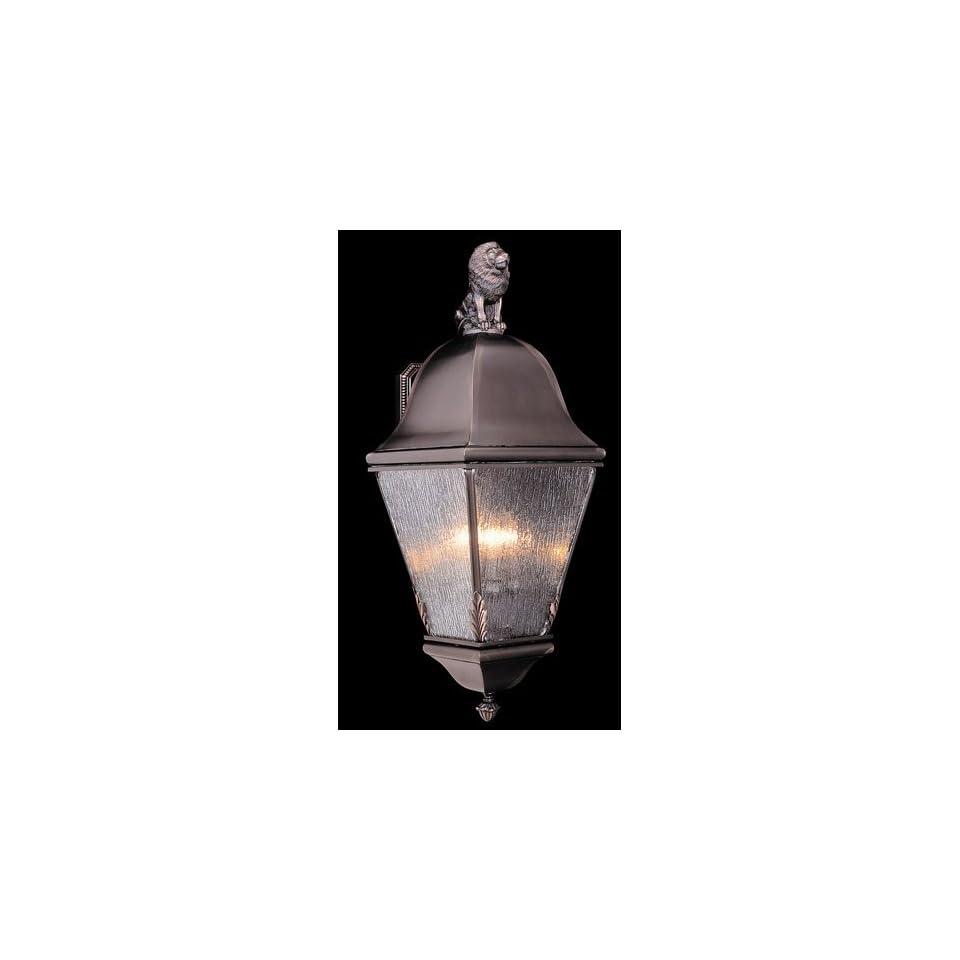 HA Framburg 9615SBR Coeur De Lion 4 Light Outdoor Ceiling Lights in Siena Bronze