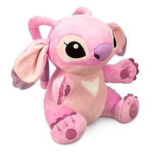 "Disney's Authentic - Lilo and Stitch Girlfriend Angel Stuffed Plush Soft Purple 23cm 9"" tall"