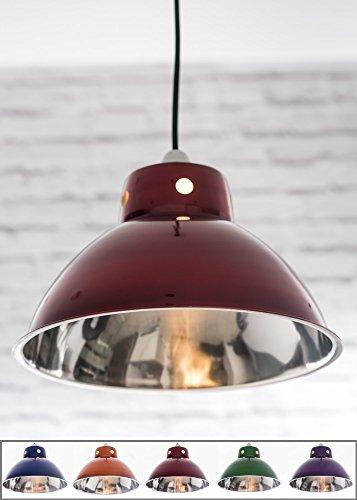 funky-cafe-style-retro-ceiling-light-pendant-metal-shade-modern-industrial-vintage-look-300mm-diamet