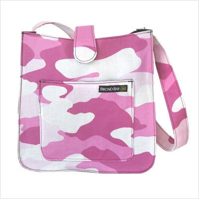 Pink Camo Shoulder Bag Purse