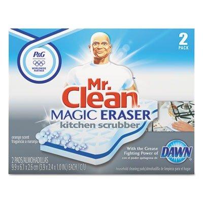 pgc47546-mr-clean-magic-eraser-kitchen-scrubber-unscented-2-pads-box