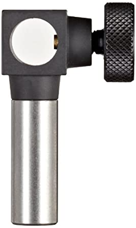 """Brown & Sharpe 599-7043 Angle Attachment for Bestest Indicator, 0.375"""" Hole, 1"""" Length, 0.375"""" Stem Dia."""