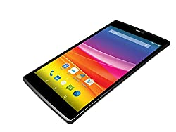 Micromax Canvas Tab P680 Tablet (8 inch, 16GB, Wi-Fi+3G+Voice Calling), Grey with free flip cover