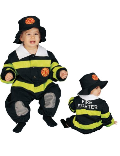 Fire Fighter Baby Costume 9-12 Months