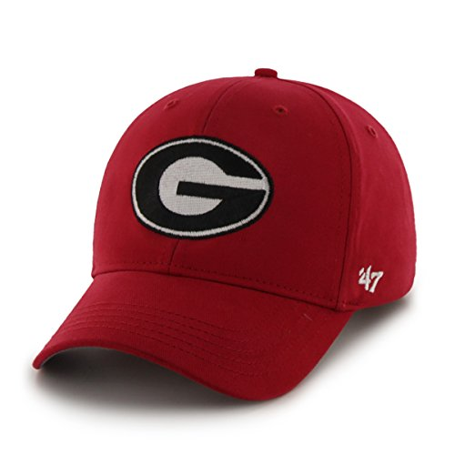 NCAA Georgia Bulldogs Basic Mvp Adjustable Hat, Youth, Red (Youth Georgia Bulldog Shirts compare prices)