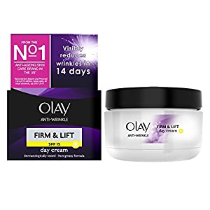 Olay Anti-Wrinkle Firm and Lift Anti-ageing Moisturiser Day Cream SPF15 - 50 ml