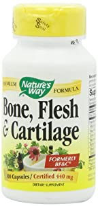 Nature's Way Bone, Flesh and Cartilage, 100 Capsules