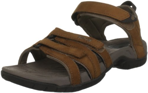Teva Women's Tirra Leather W's Rust Sandal 4177 4 UK