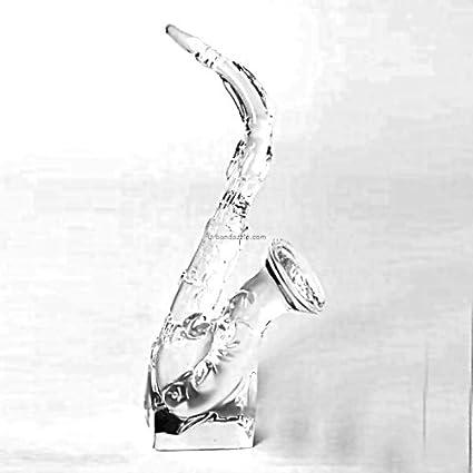 Devnow Crystal Glass Saxophone 19cm