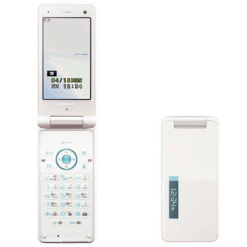 Docomo SHARP SH-11C Unlocked Waterproof Cell Phone White