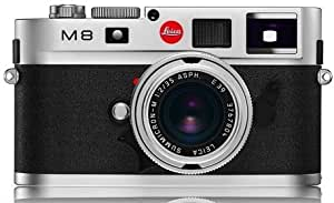 Leica M8 10.3MP Digital Rangefinder Camera with .68x Viewfinder (Silver Chrome Body Only)