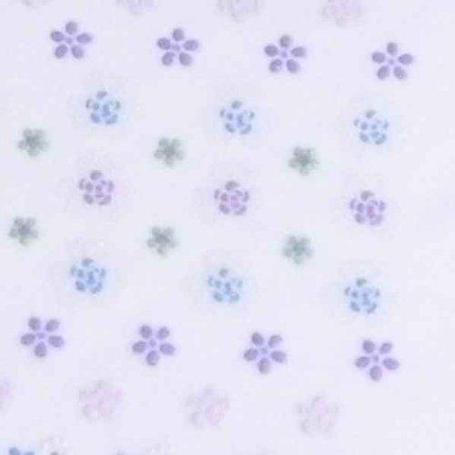 ネイルシール デコシール ネイルアート 雑貨 パープル系 花 フラワー