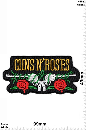 Patch - Guns n' Roses - Revolver - MusicPatch - Rock - Chaleco - toppa - applicazione - Ricamato termo-adesivo - Give Away
