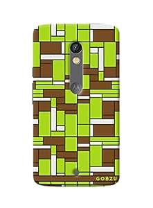 Gobzu Printed Back Covers for Motorola Moto X Play - Tetris GB